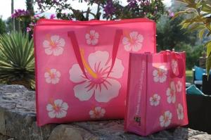 Пляжная сумка Freds Swim Academy «Гибискус», маленькая