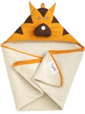 3sprouts тигр полотенца с капюшоном для детей сложен