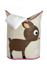 Корзины для белья 3Sprouts оленёнок с полотенцем