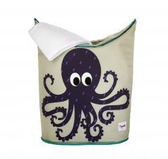 Корзины для белья 3Sprouts осьминог с полотенцем