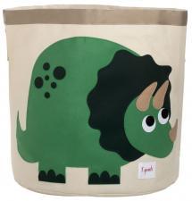Корзина для игрушек 3sprouts динозавр