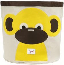 Корзина для игрушек 3sprouts обезьянка