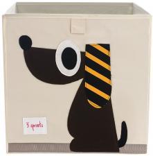 Коробка для игрушек 3sprouts собачка