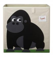 Коробка для игрушек 3sprouts горилла