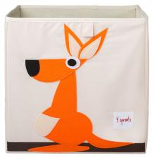 Коробка для игрушек 3sprouts кенгуру