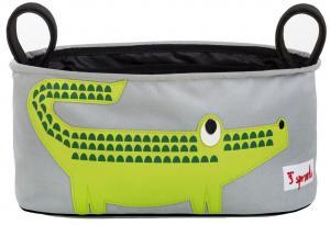 3sprouts крокодил сумка-органайзер для коляски