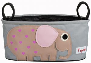 3sprouts слон сумка-органайзер для коляски