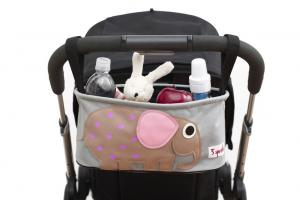 3sprouts слон полная сумка-органайзер на коляске