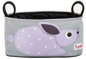 3sprouts кролик сумка-органайзер для коляски