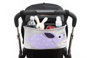 3sprouts кролик полная сумка-органайзер на коляске