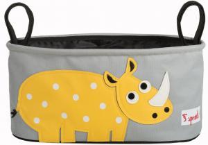 3sprouts носорог сумка-органайзер для коляски