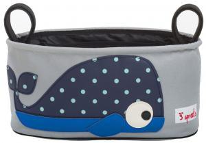 3sprouts кит сумка-органайзер для коляски