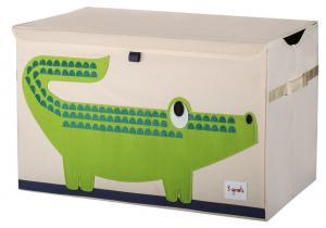 3sprouts cундук для игрушек крокодил