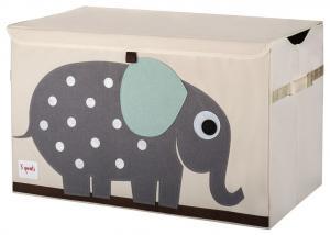 3sprouts cундук для игрушек слон