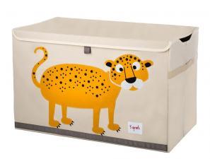 3sprouts cундук для игрушек леопард