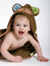 Хлопковое полотенце обезьянка