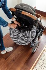 Сумка для пелёнок на плечо или на коляску мишка