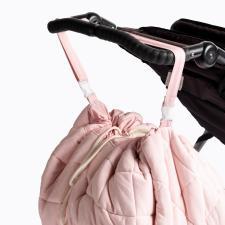 Сумка для пелёнок на плечо или на коляску павлин