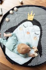 Коврик-мешок из хлопка пингвин playandgo soft