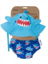 Детские плавки zoocchini акула