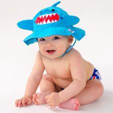 Детский подгузник для плавания zoocchini акула