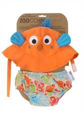 Детский подгузник для плавания zoocchini рыбка