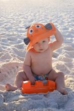 Купальник zoocchini рыбка детям с 3 до 6 месяцев