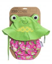 Купальник zoocchini лягушка детям с 3 до 6 месяцев