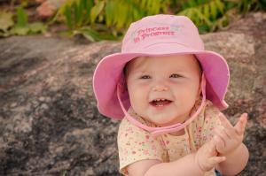 Панама flapjackkids принцесса и горох для детей от 2 до 4 лет
