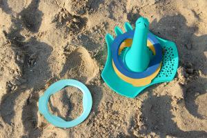 6 колец и мячик quut ringo для песка и снега