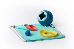 Детский набор для пляжа quut, ведро, совок и формочка