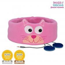 Детские наушники с повязкой snuggly rascals котёнок