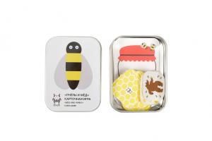 Настольная карточная игра пчёлы и мёд на 1-2 игрока
