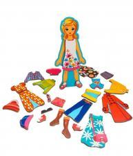 Игровой набор mr. bigzy модный гардеробчик девочка