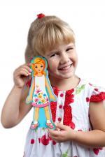 Развивающая игрушка mr. bigzy модный гардеробчик девочка