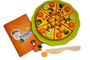 Игра mr. bigzy пицца-мастерица для развития и активности малыша