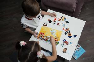 Магнитная игра mr. bigzy профессии для малышей