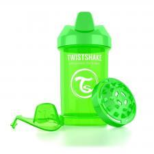 Зелёный поильник twistshake crawler cup 300 мл.