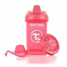 Персиковый поильник twistshake crawler cup 300 мл.
