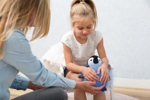 Детская мягкая игрушка zazu пингвинёнок