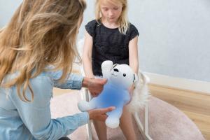 Охлаждающая игрушка zazu полярный мишка пол
