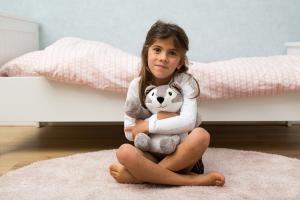 Детская мягкая игрушка zazu хаски хави