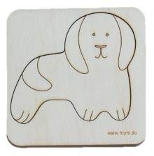Игрушка-головоломка мум вкладыш собака