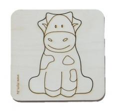 Игрушка-головоломка мум вкладыш коровка