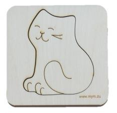 Игрушка-головоломка мум вкладыш кошка