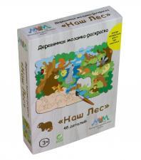 Деревянная мозаика МУМ Наш лес с животными
