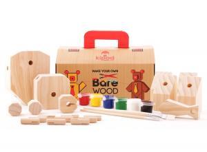 Деревянный медведь kipod для детей