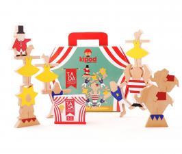 Деревянный набор-балансир цирковое шоу kipod