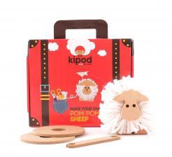 Игровой набор пом-пом kipod создай овечку