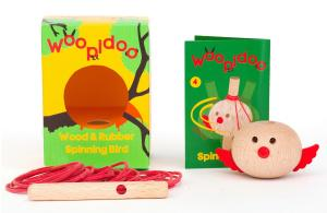 Детская деревянная вертушка kipod «птичка» для обучения принципам физики и механики